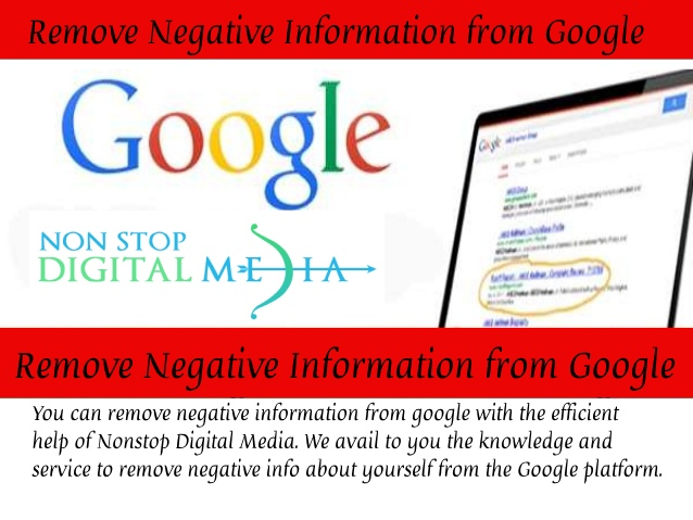 Remove Negative Information from Google